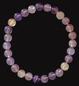 Amétrine, qualité +, bracelet en perles de 6 mm