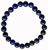 Lapis lazuli, qualité ++, bracelet en perles de 8 mm