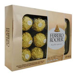 Chocolates Ferrero Rocher 150 g 12pzas.