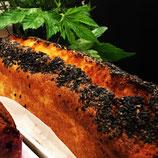 安納芋と黒ゴマの豆腐パウンドケーキ