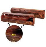 Räucherstäbchenbox Und Halter Holz