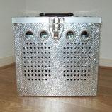 Duivenmand aluminium 2 vaks