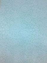 Panno azzurro con decori 1mm - mis 30x40 cm