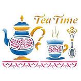 Stencil Tea