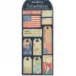 Collectables pretagliati in cartoncino rigido