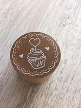 Muffin con cuore - w23006