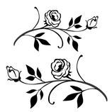Timbro Foglie e fiori