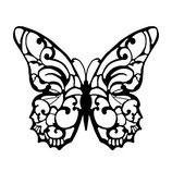 Timbro farfalla Alta definizione