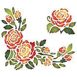 Stencil  Rose