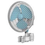 Umluft Ventilator 16 cm Durchmesser 20 Watt:  2 Stufen und automatisch schwenkbar