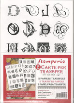 Papel transfer Stamperia-030