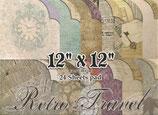 "Retro travel 12""x12"" 24 hojas"