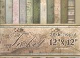 """Ticket 12""""x12"""" 24 hojas"""