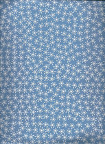 Goma eva manchas azul-blanco