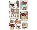 Papel de arroz Country kitchen-256