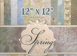 """Spring 12""""x12"""" 24 hojas"""