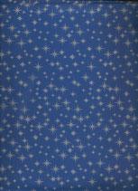Goma eva estrellas azul-plata