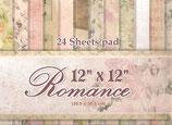 "Romance 12""x12"" 24 hojas"