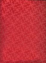 Goma eva Kreateva Arabesko roja en relieve aterciopelado