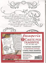 Papel transfer Stamperia-037