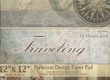"Traveling 12""x12"" 24 hojas"