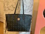 MCM Tasche Liz Project Shopper Visetos schwarz