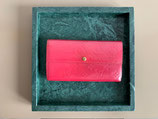 Louis Vuitton Sarah Geldbörse Vernis pink Portemonnaie