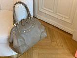 MCM Tasche Boston Bag Alda Leder taupe