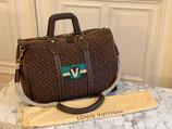 Louis Vuitton Keepall Mini Lin Initials Rarität