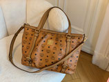 MCM Tasche XL Shopper Visetos cognac crossbody