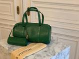 Louis Vuitton Tasche Soufflot Epi grün + Papillon Pochette NEUWERTIG