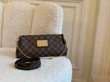 Louis Vuitton Tasche Pochette Eva Damier Ebene