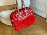 Louis Vuitton Tasche Sutton Shopper Vernis rot