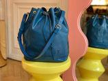 Louis Vuitton Tasche Sac Noe Grande Epi blau LV