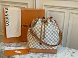 Louis Vuitton Tasche Sac Noe Damier Azur Beuteltasche LV