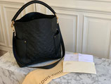 Louis Vuitton Tasche Bagatelle Empreinte Leder schwarz