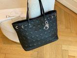 Christian Dior Shopper Tasche schwarz