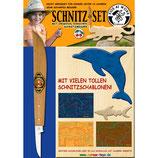 Corvus Schnitz-Set-Messer & Holz