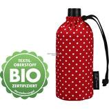 Emil die Flasche - 0.3 l oval Bio Punkte Rot