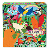 Eeboo - Puzzle Wiesentiere 64 Teile