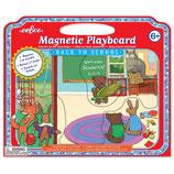 Eeboo - Magnetische Spieltafel - In die Schule gehen