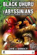 Black Uhuru & Abyssinians Tourposter