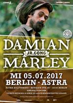 Damian Marley Tourposter 2017
