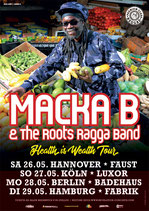 Macka B Tourposter 2018