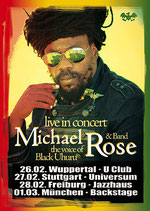 Michael Rose Tourposter 2013