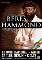 Beres Hammond Tourposter 2012