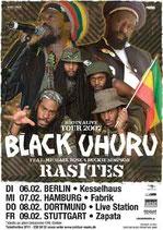 Black Uhuru Tourposter 2007