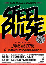 Steel Pulse Tourposter 2008