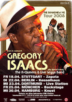 Gregory Isaacs Tourposter