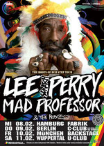 "Lee ""Scratch"" Perry Tourposter 2012"